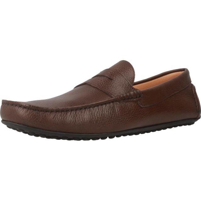 Sitgetana Mocassins et chaussures bateau homme Kiowa, Marron