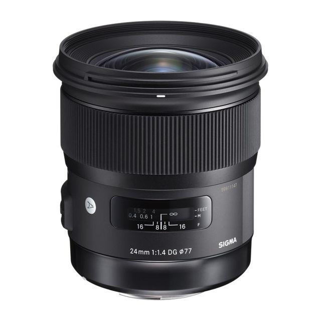 Sigma Objectif 24 mm f/1.4 Art monture Garanti 3 ans
