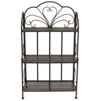 etagere pliable achat etagere pliable pas cher rue du commerce. Black Bedroom Furniture Sets. Home Design Ideas