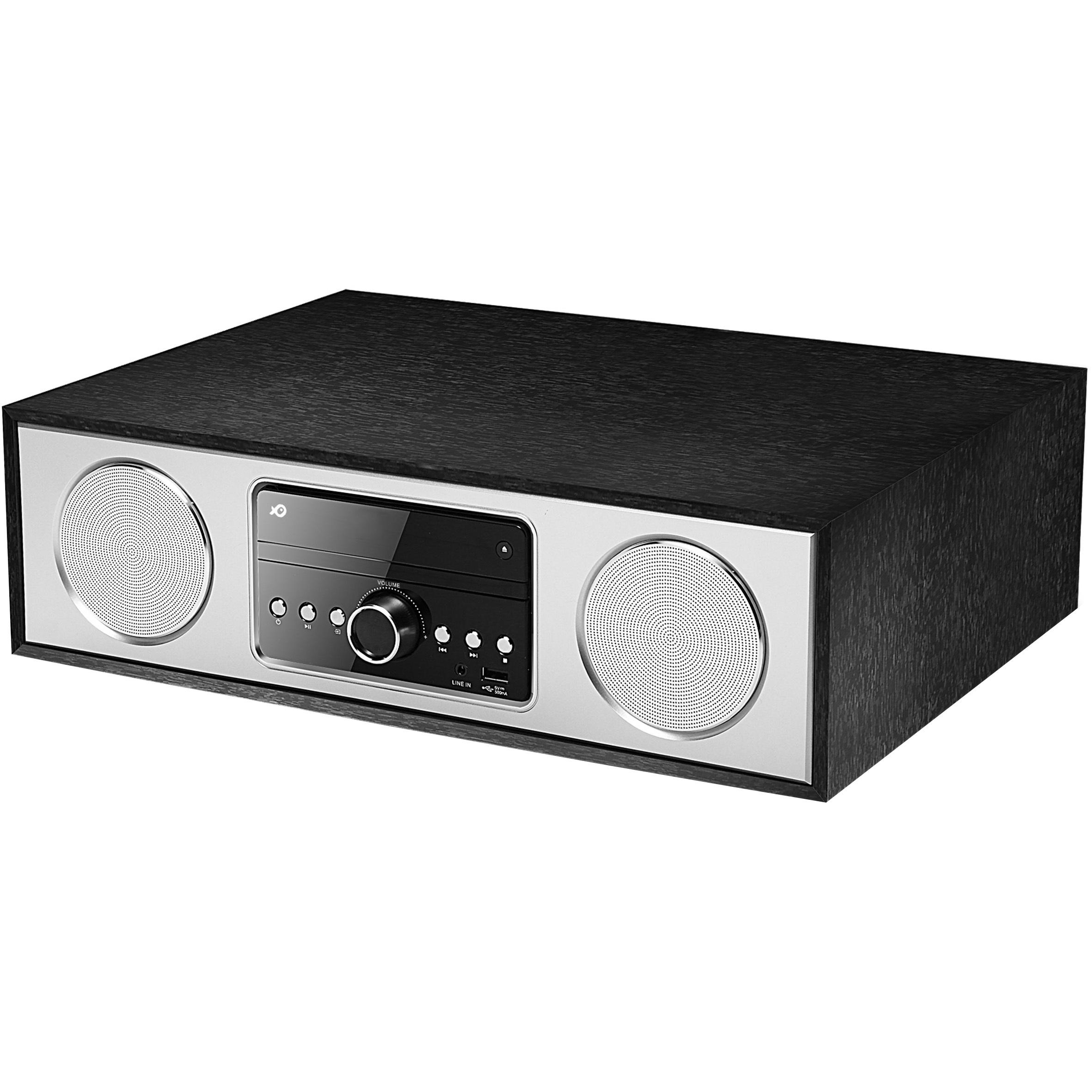 POSS Micro-chaîne CD - PSHS60 - Noir