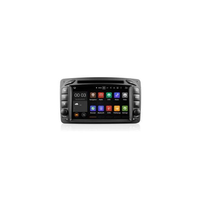 Auto-hightech Autoradio 7 écran tactile Android5.1.1 pour voiture avec Gps Radio Bluetooth pour Mer