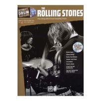 Alfred Publishing - Partitions Variété, Pop, Rock Rolling Stones, The - Ultimate Drum Play Along + 2 Cd Drums