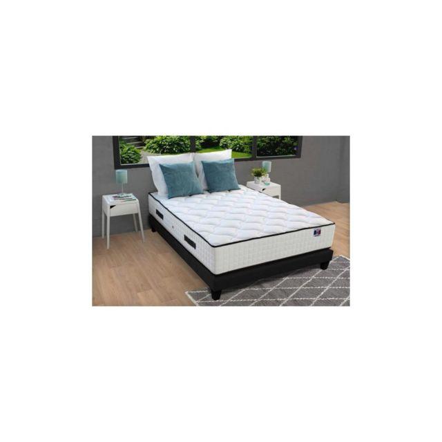 Confort Design Matelas 180x200 - Ressorts - 30 Cm - 7 Zones - Equilibre - Hotel Grand Confort