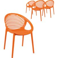 Catalogue Empilables Orange Lot 4 2019rueducommerce Chaises qSVUzpM
