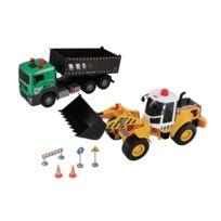 John World - Coffret véhicules de chantier