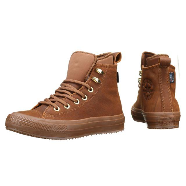 Converse Basket Ctas Wp Boot Hi 557946c Brown pas cher