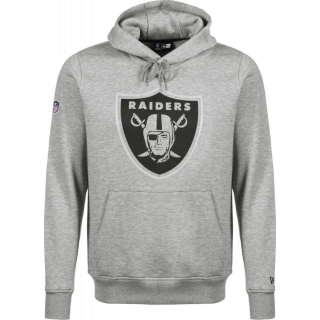 joli design chaussures authentiques code promo Sweat à Capuche Nfl Oakland Raiders Fan Pack Hoody Gris pour Homme Taille -  L
