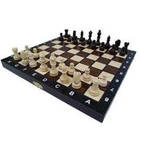 Prime Chess - 26.7cm Européen école set d'échecs - Ornement conseil d'administration de pliage