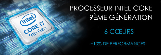 MSI - Processeur Intel Core i7 9th