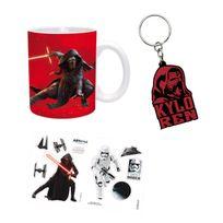 Abystyle - Coffret cadeau Star Wars : Mug, porte-clés et stickers : Kylo Ren