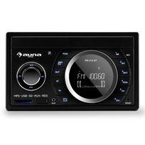 AUNA - MD-210 BT Autoradio RDS Bluetooth FM USB SD MP3 AUX 2 DIN 4 x 75W