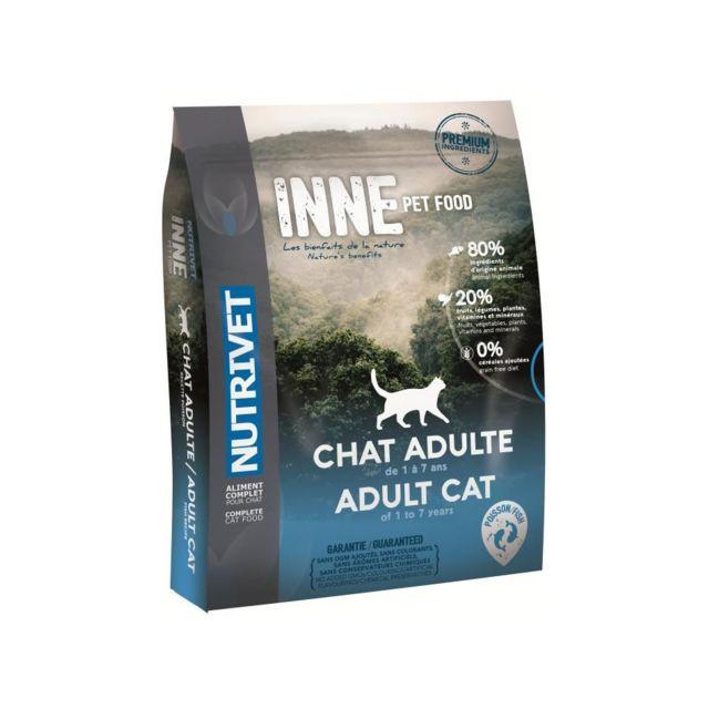 Nutrivet Croquettes au poisson Inne - Pour chat adulte - 6 kg