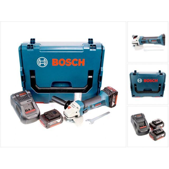 65217006c878b3 Bosch - Gws 18-125 V-li 125 mm Meuleuse angulaire sans fil ...