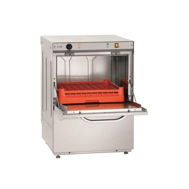 Bartscher Lave vaisselle professionnel avec pompe à eau savonneuse - 3,4 kW -panier 500x500 mm 220V monophase