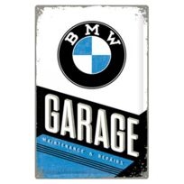 Bmw - Grande plaque métal