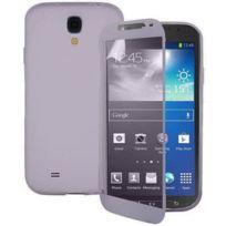 Vcomp - Housse Etui Coque silicone gel Portefeuille Livre rabat pour Samsung Galaxy S4 Active I9295/ I537 Lte - Transparent