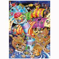 Heye - Puzzle 1000 pièces Robert J. Crisp : Le crash du phare