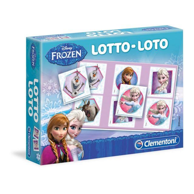 Clementoni loto reine des neiges pas cher achat - Jeu reine des neiges en ligne ...