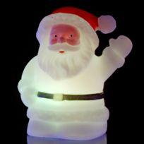 Atmosphera - Décoration d'intérieur à Led rétro-lumineuse - Père Noël - Variation de couleurs