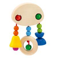Selecta Spielzeug - Mobile hochet en bois Cliponella