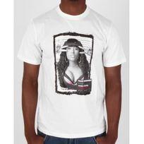 Marque Generique - Tshirt Mugshot Nicki blanc