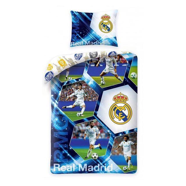 Home - Real Madrid Ronaldo - Parure de Lit Match Football - Housse de  Couette d7ce957f49e8