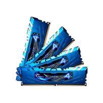 G.Skill - Ripjaws 4 Series - Ddr4 - 32 Gb : 4 x 8 Gb - Dimm 288-PIN - 3000 Mhz / Pc4-24000 - Cl15
