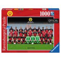 Ravensburger - Puzzle 1000 pièces : Equipe officielle de Belgique, Les Diables Rouges 2016