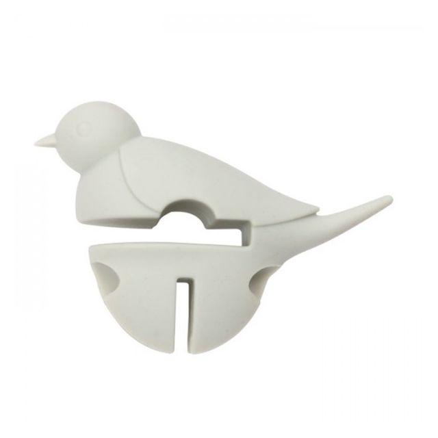 Chevalier Diffusion Repose cuillère Petit oiseau blanc 3 en 1 - Dexam