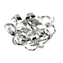 Briloner Leuchten - Plafonnier Briloner 3xE14 40W D500M Chrome Ampoules non Comprises