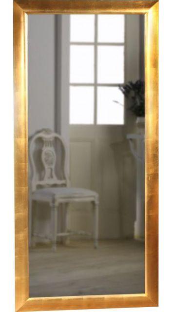 Comforium Miroir mural design coloris doré