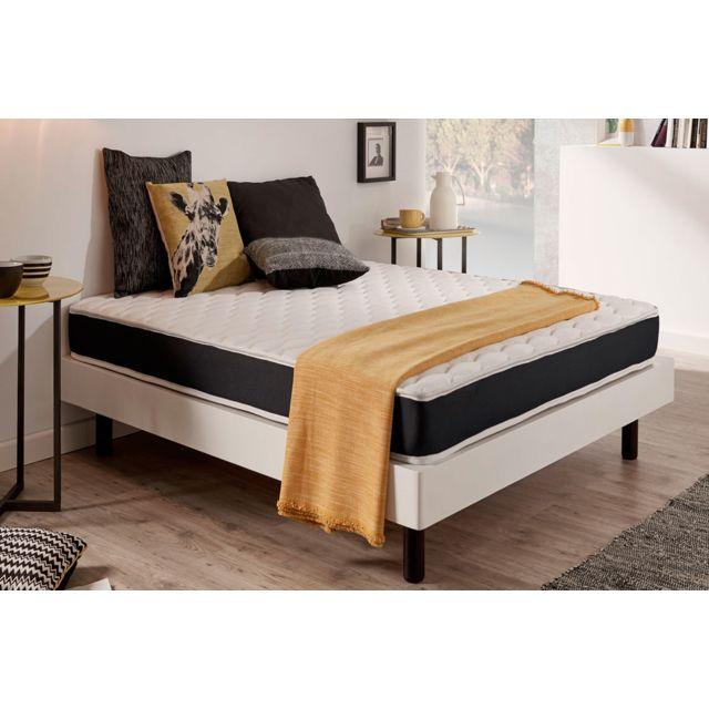naturalex matelas ergolatex 120x190 cm 100 mousse hr effet m moire blue latex 15 cm. Black Bedroom Furniture Sets. Home Design Ideas