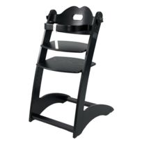 First Baby Safety - Chaise haute Laura - noir