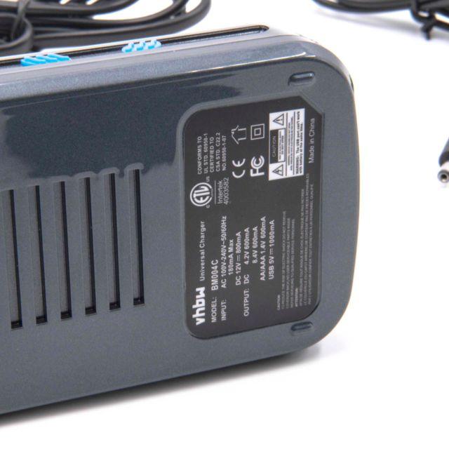 chargeur universelle de batterie intertek