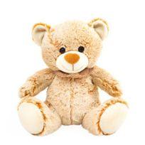 AMI PLUSH - Peluche ours pastel avec foulard 25 cm