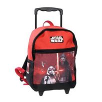 Star Wars - Sac à roulettes The Force 38 Cm rouge - Cartable