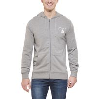 Poler - Wolf - Sweat-shirt - Zip gris
