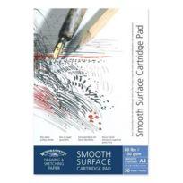 Winsor & Newton - Bloc De Feuilles De Papier À Dessin Surface Lisse A2