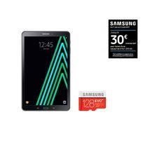 Galaxy Tab A6 - SM-T580NZKAXEF - Wifi - Noir + MICRO SD EVO PLUS Classe 10 - 128 Go