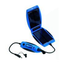 Powertraveller - Chargeur Solaire Powermonkey Explorer Bleu