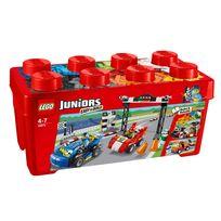 Lego - JUNIORS - Grande boîte du rallye automobile - 350 pièces - 10673