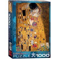"""Eurographics - Puzzle Puzzle 1000 PiÈCES 19.25 """"X26.5"""" - Klimt - Le Baiser DER Kuss"""