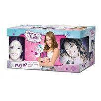 Easy Licence - Coffret cadeau Mug Violetta x2 325ML