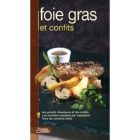 EDITIONS SAEP - livre de recettes - foie gras et confits les meilleures recettes