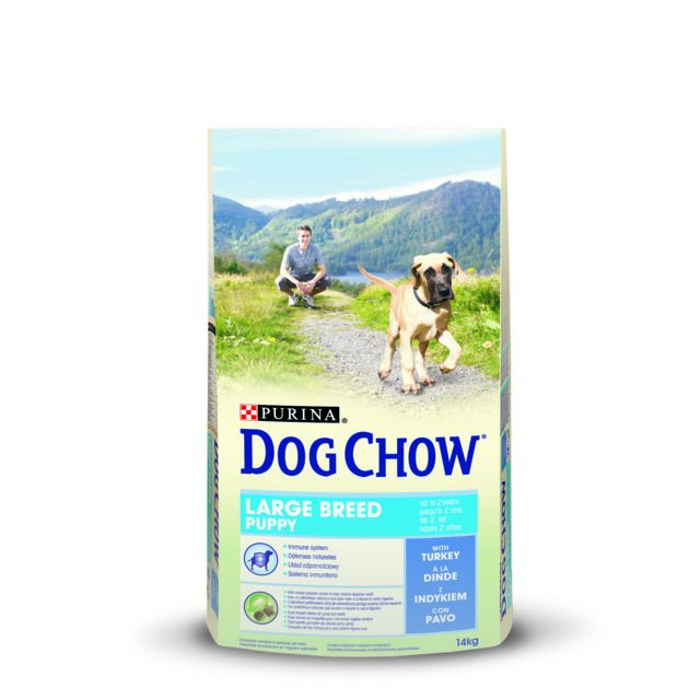 Dog Chow Purina Puppy Large Breed Dinde