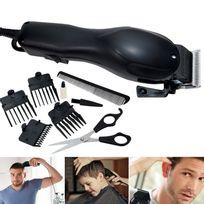 IDMARKET - Tondeuse à cheveux électrique + 8 accessoires