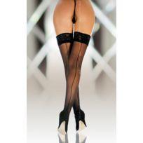 Softline - Bas Voile Couture Noir