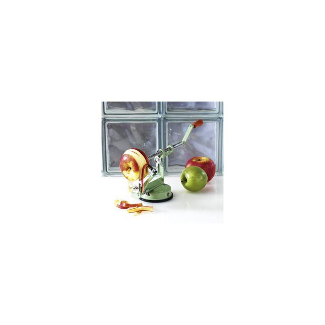 Table And Cook Pèle Pommes à Ventouse - Vert