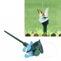 Pots Sans Papillon Décoration De Fleurs Solaire Colibri Jouet Électrique Rotatoire rdoxeCWB