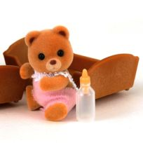 Sylvanian Families - Sylvanian Family 3401 : Bébé ours roux